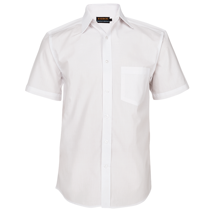 Mens Basic Poly Cotton Lounge Short Sleeve (LO-PLA)